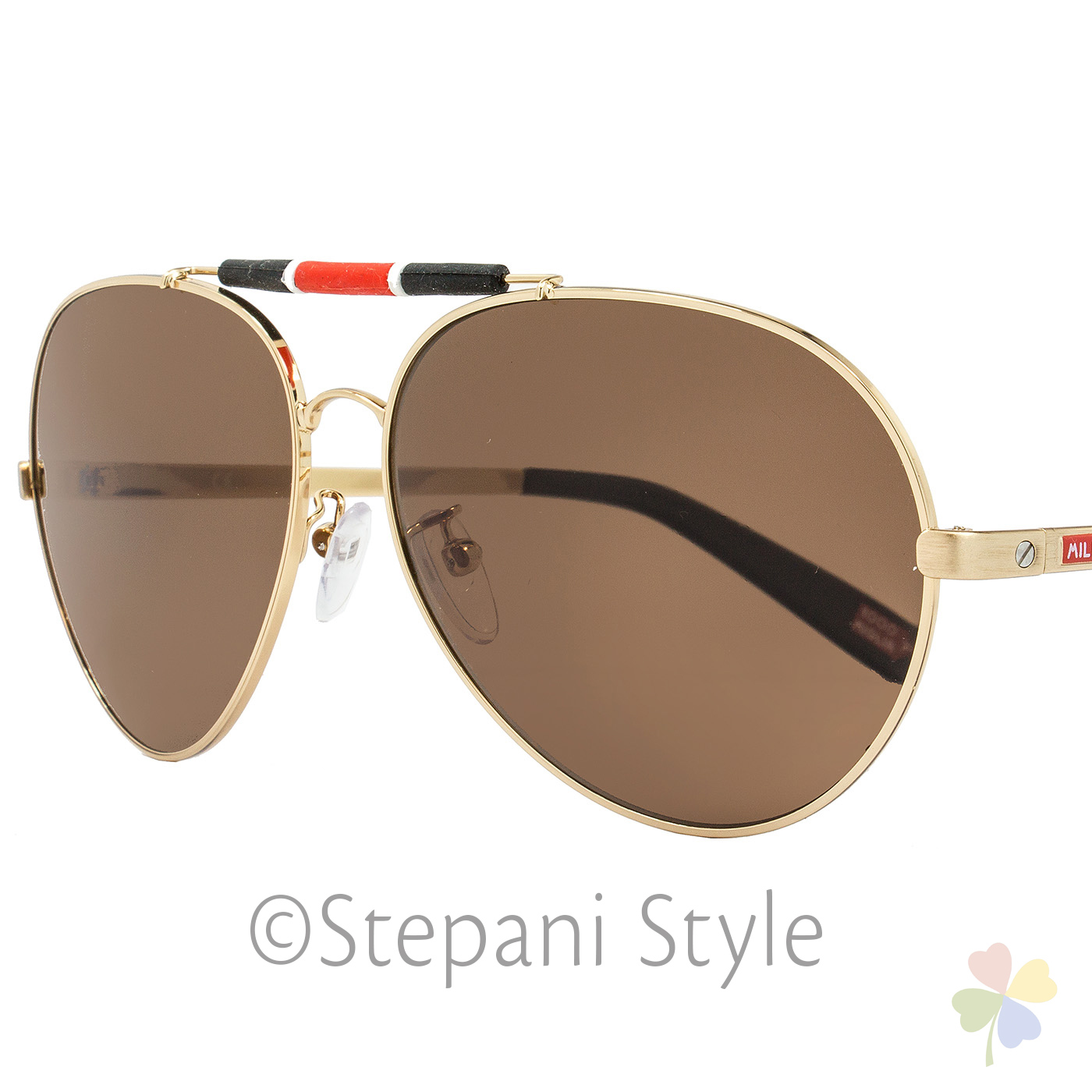 Gold And Black Aviator Sunglasses  mille miglia by chopard aviator sunglasses smma09 h16p gold black